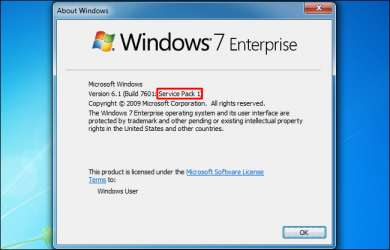 service pack windows 7