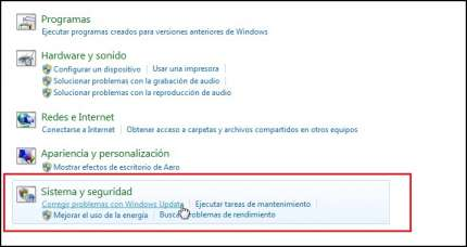 windows update no actualiza