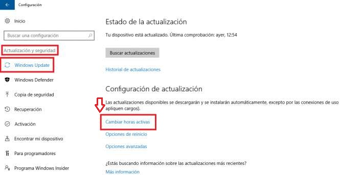desactivar actualizaciones en windows 10