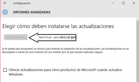 desactivar windows 10 update