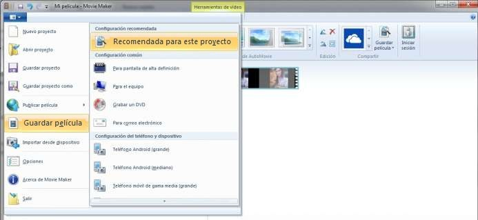 como girar videos en movie maker