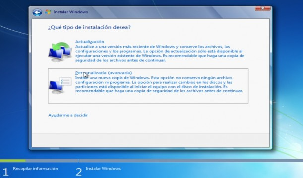 desactualizar windows 10