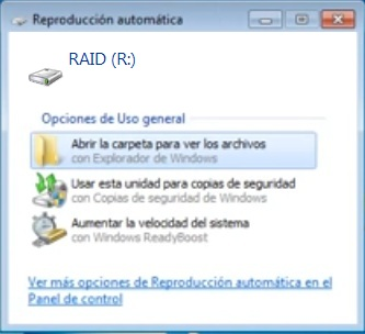 windows raid