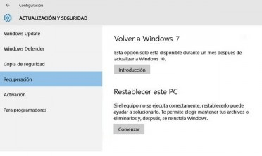 volver a windows 7