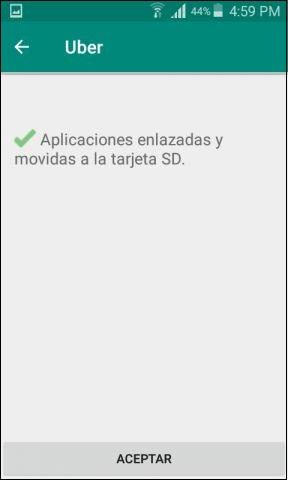 mover aplicaciones a sd android sin root