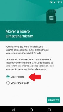 mover aplicaciones a sd root