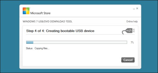USB booteable para instalar Windows