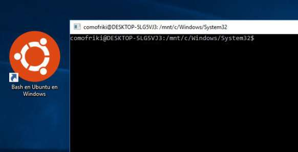 bash windows 10