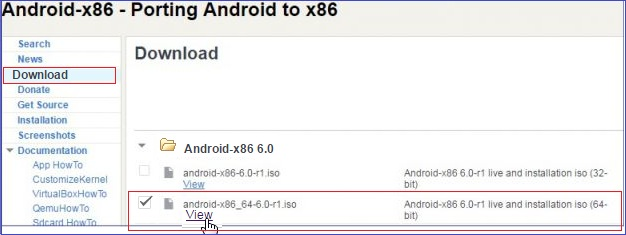 instalar android en tu PC