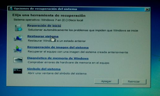 mi pc no arranca windows 7