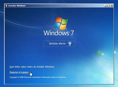 reparador de windows