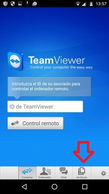 acceso remoto a pc desde android