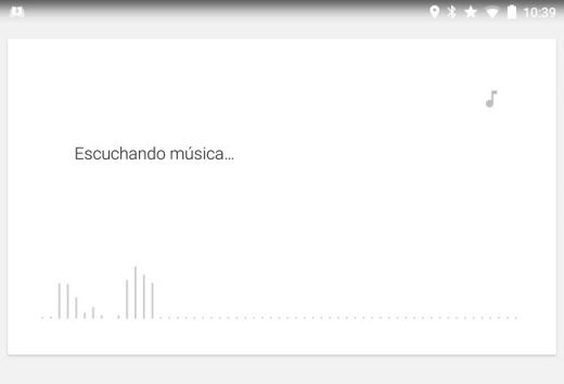 identificar canciones con google now