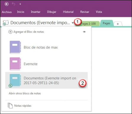 como sincronizar onenote