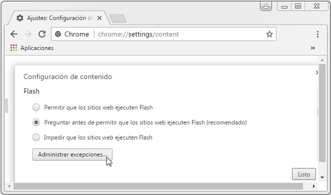 activar adobe flash player gratis