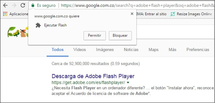 como ejecutar adobe flash player