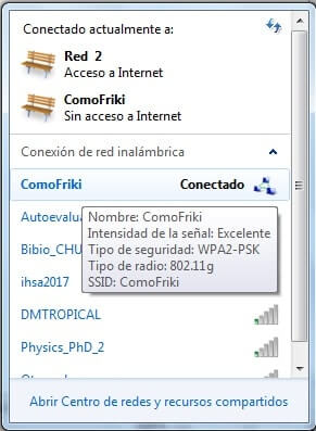 como compartir internet windows 7