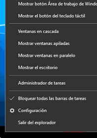 explorador de windows se reinicia