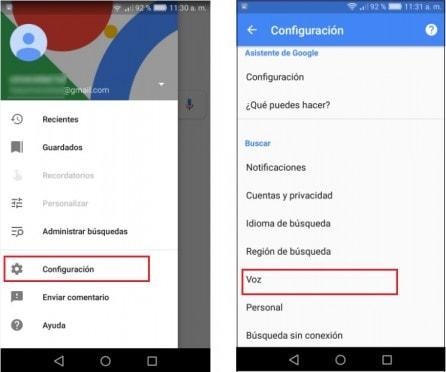 desactivar ok google en tu android