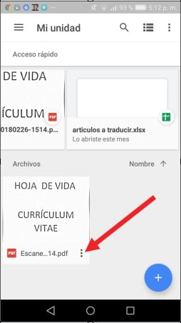 app que escanea documentos