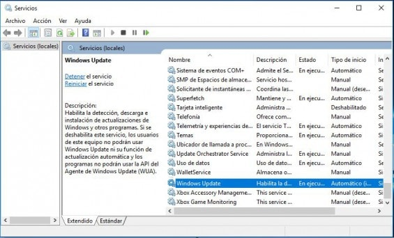desactivar actualizaciones windows 10